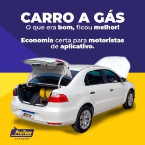 Carro a Gás para Motoristas de Aplicativo